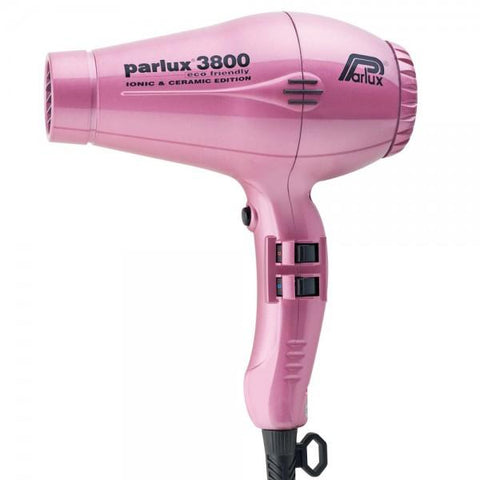 Parlux 3800 Ceramic & Ionic Dryer 2100W - Pink