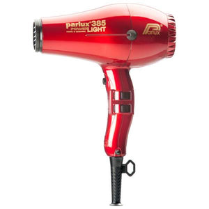 Parlux 385 Powerlight Ceramic & Ionic Dryer 2150W - Red