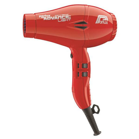 Parlux Advance Light Ceramic & Ionic Dryer Red