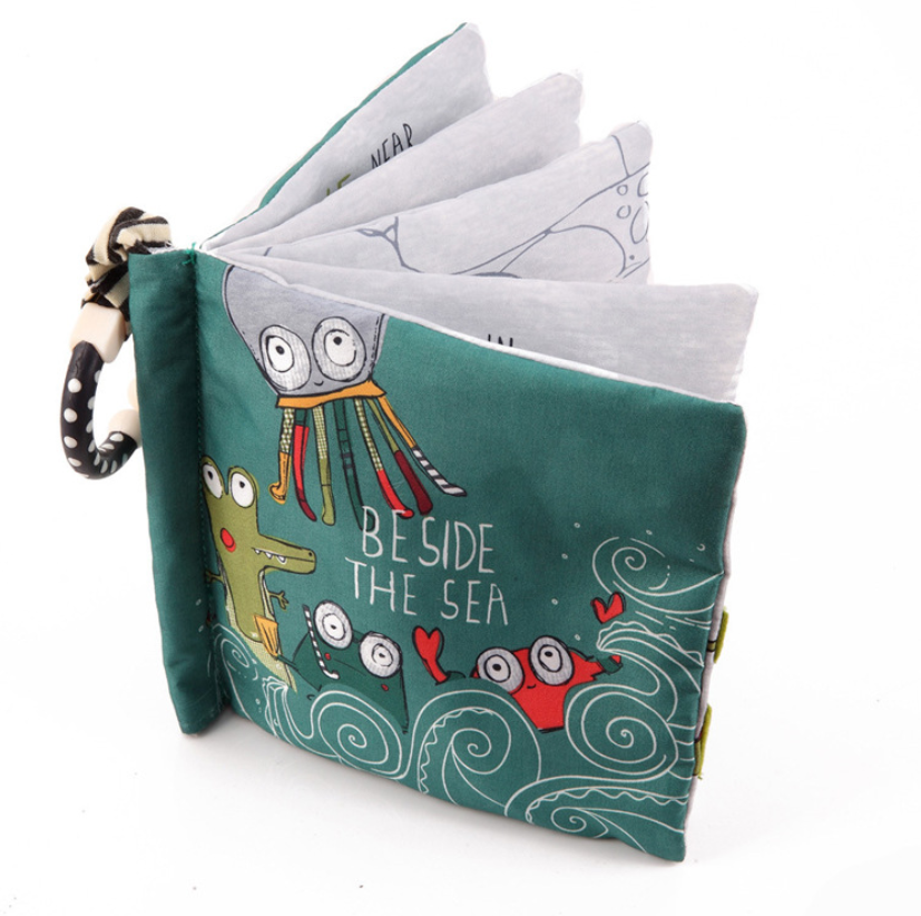 Baby cloth book- Octopus