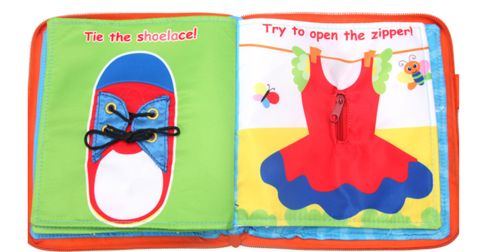 3D Fabric Activity Book- My Lovely Book