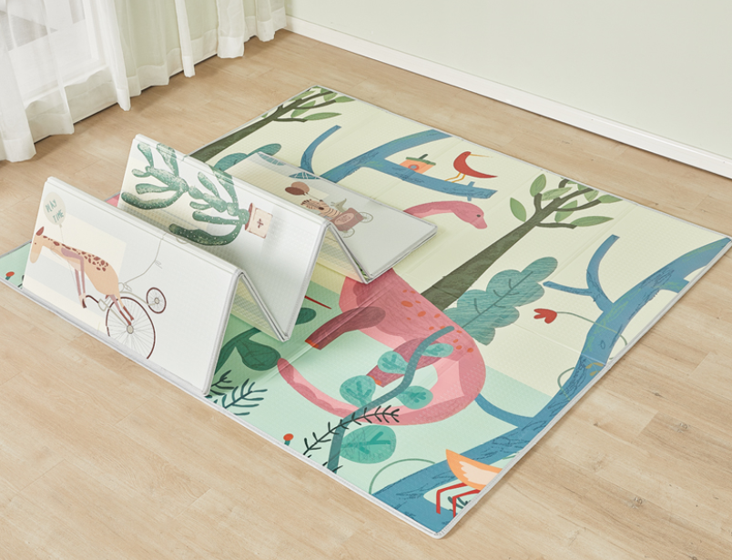 Mloong Foldable XPE Play Mat -Dinosaur-Large (Thickness 1cm)