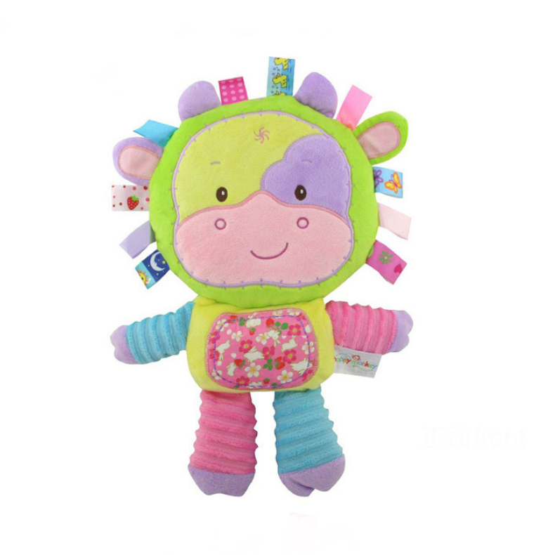 Happy Monkey Baby Activity Toy -Cow