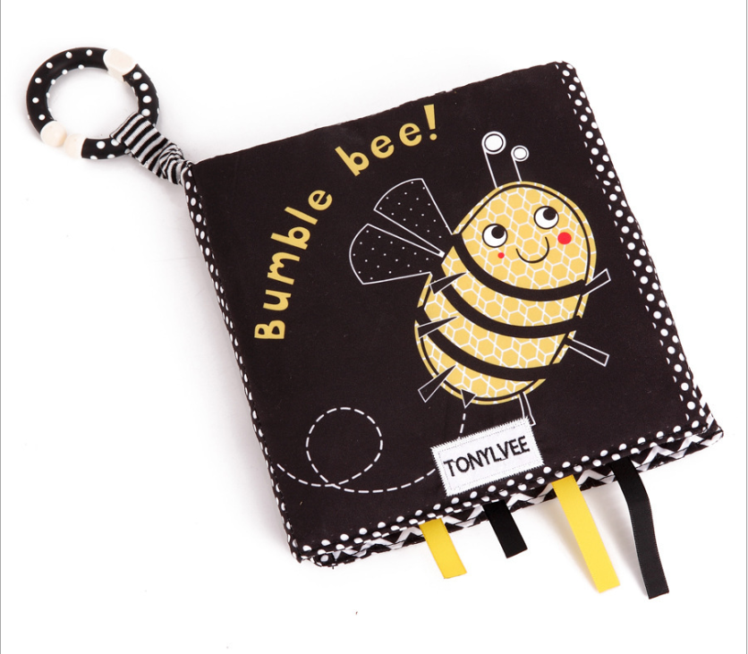 Baby cloth book- Bumble Bee