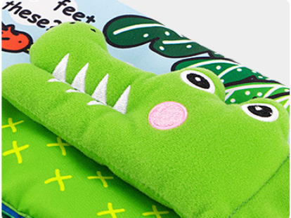 Jollybaby 3D Book Crocodile