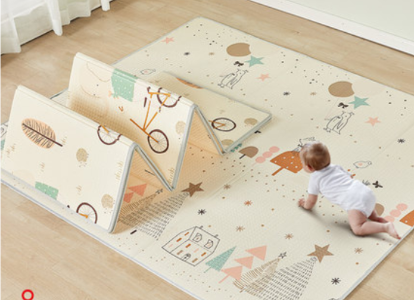 Mloong Foldable XPE Play Mat -Forest-Small (Thickness 1cm)