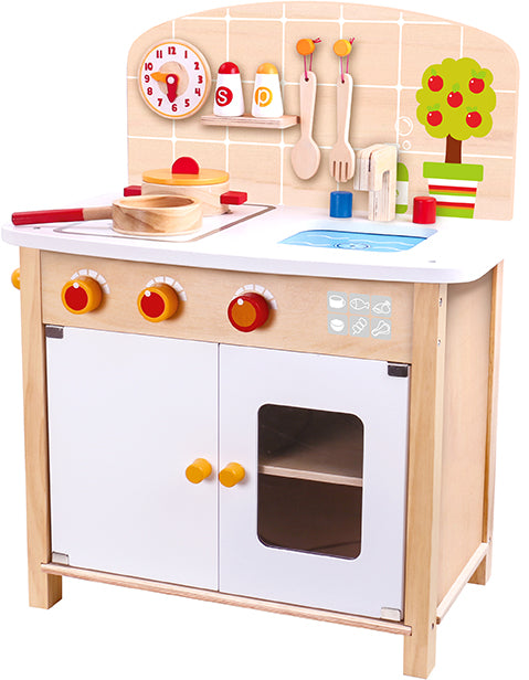 Tooky Toy Wooden Kitchen Set
