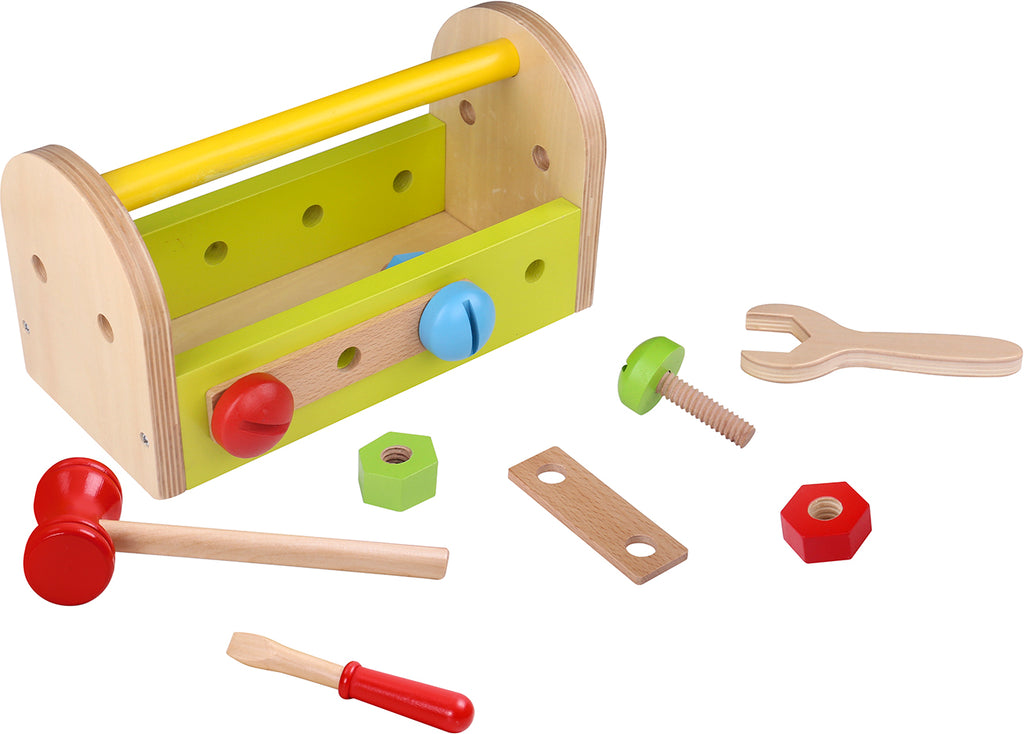 Tooky Toy Wooden Tool Box