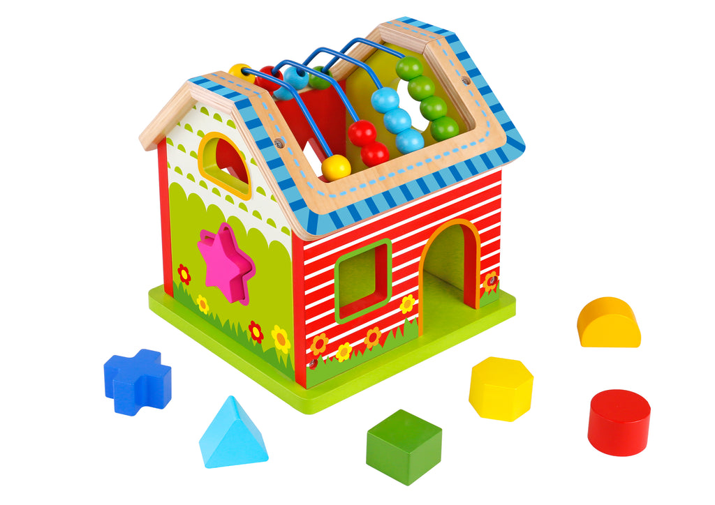 Tooky Toy Wooden Activity House