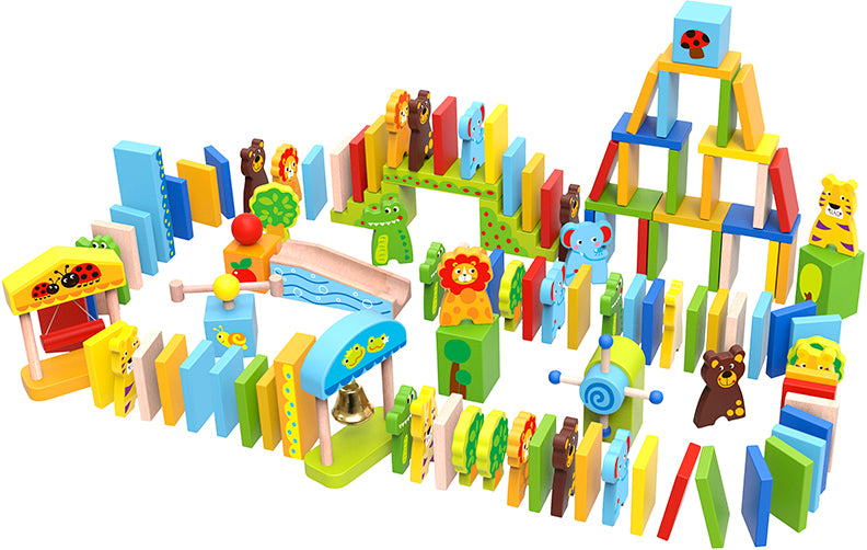 Tooky Toy Wooden Animal Dominos