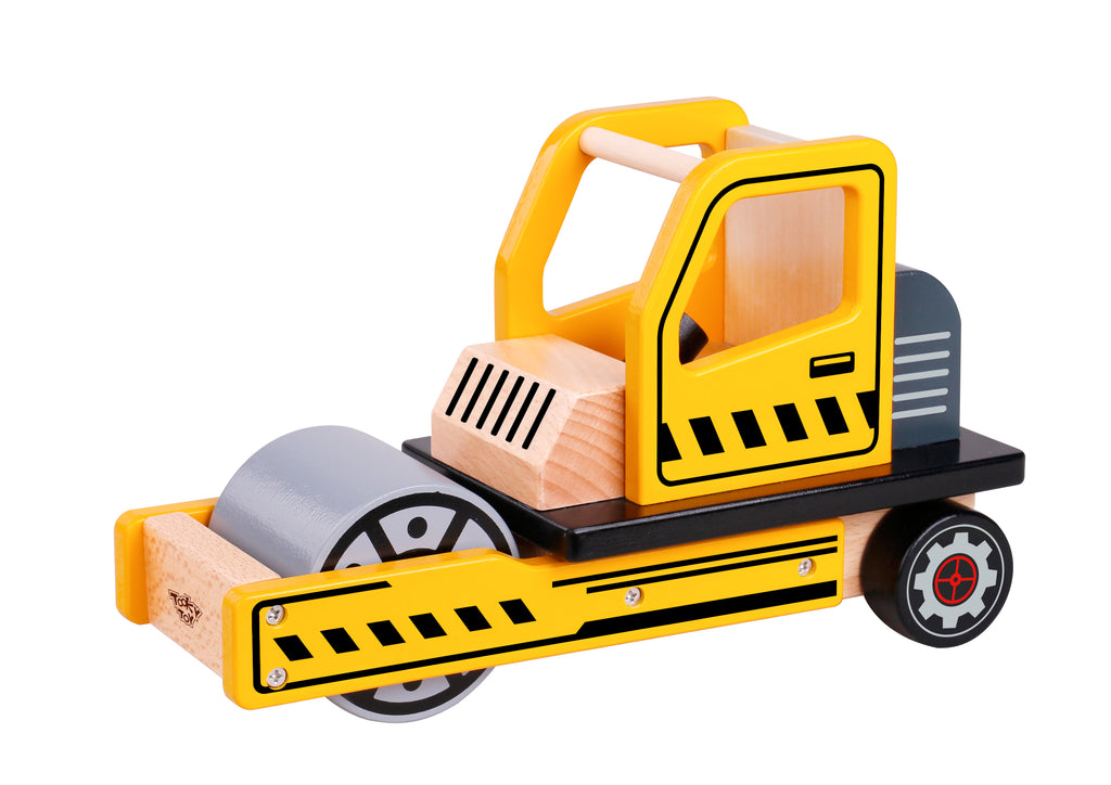 Tooky Toy Wooden Road Roller