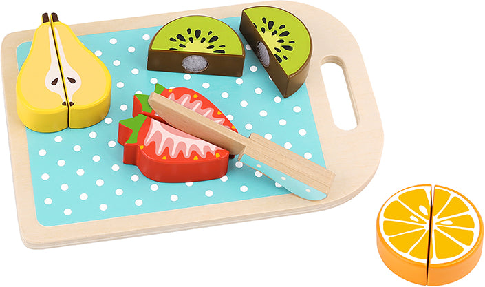 Tooky Toy Wooden Cutting Fruits Set  6 Pieces