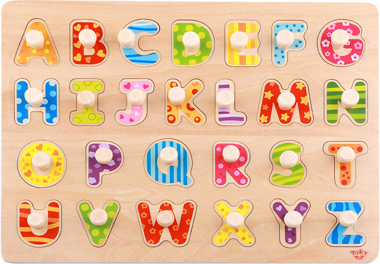 Tooky Toy Wooden Alphabet Puzzle