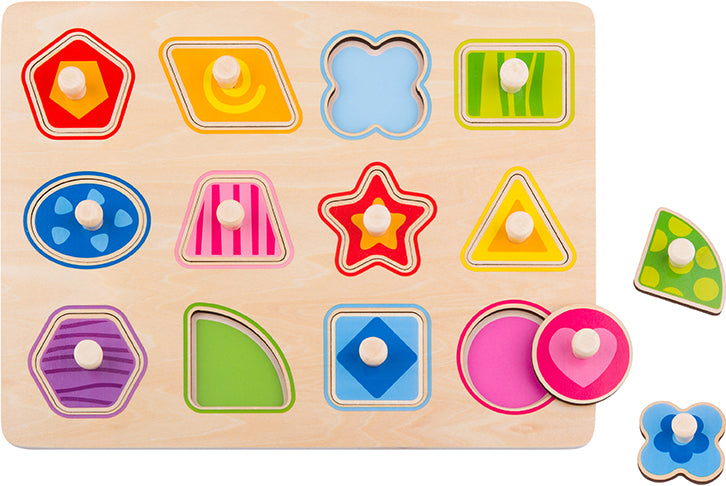 Tooky Toy Wooden Shape Puzzle