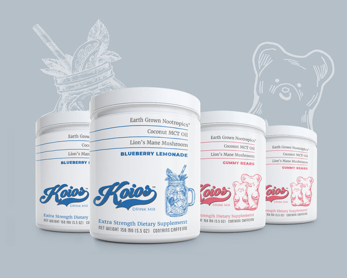 Koios Supplement Mixed Bundle 4 Pack