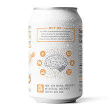 Load image into Gallery viewer, Apricot Vanilla Sparkling Natural Brain Energy - Brain and Immunity Boost. 12 pack