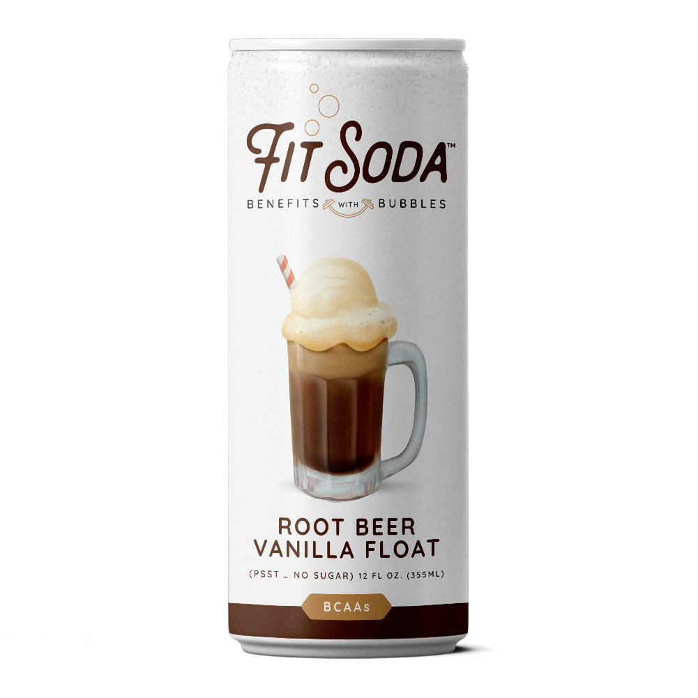 Root Beer Vanilla Float Fit Soda  - Healthy Hydration with amazing flavor!