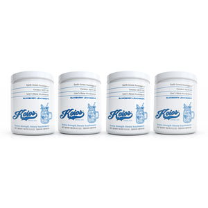 Koios Blueberry Lemonade Nootropic Supplement Bundle 4 Pack - 120 Servings