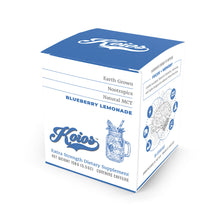 Load image into Gallery viewer, Koios Blueberry Lemonade Nootropic Stick Packs - Single Serving