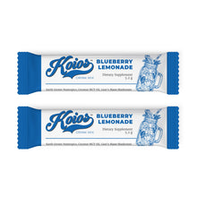 Load image into Gallery viewer, Koios Blueberry Lemonade Nootropic Stick Packs - 15 Servings
