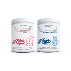 Koios Nootropic and Immunity Drink Mix Bundle 2 Pack - 60 Servings
