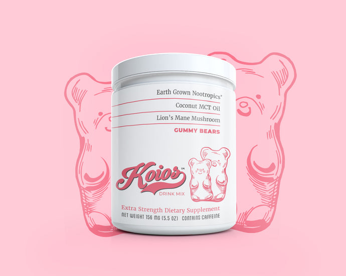 Koios Gummy Bears Nootropic Supplement Tub – 30 Servings