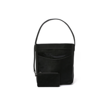 Load image into Gallery viewer, J\SABA | Pitch Black Pro Hobo with Pouch