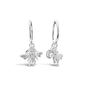 Fabuleux Vous Bee You Hoop Earrings | Silver
