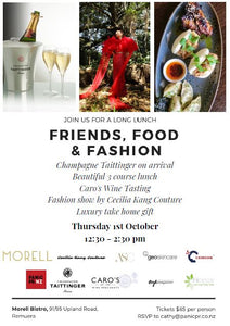 Friends, Food & Fashion Long Lunch at Morell