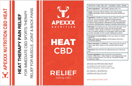 CBD HEAT ROLL ON