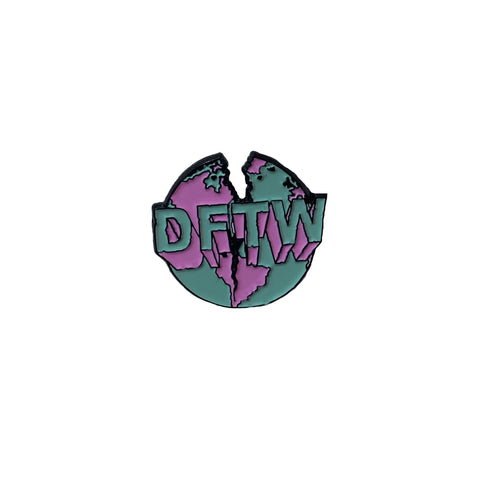 DFTW Pin Badge - Anti Social Vegan Club