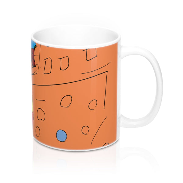 "Drew Southern ""Cone Eyes"" Coffee Mug"