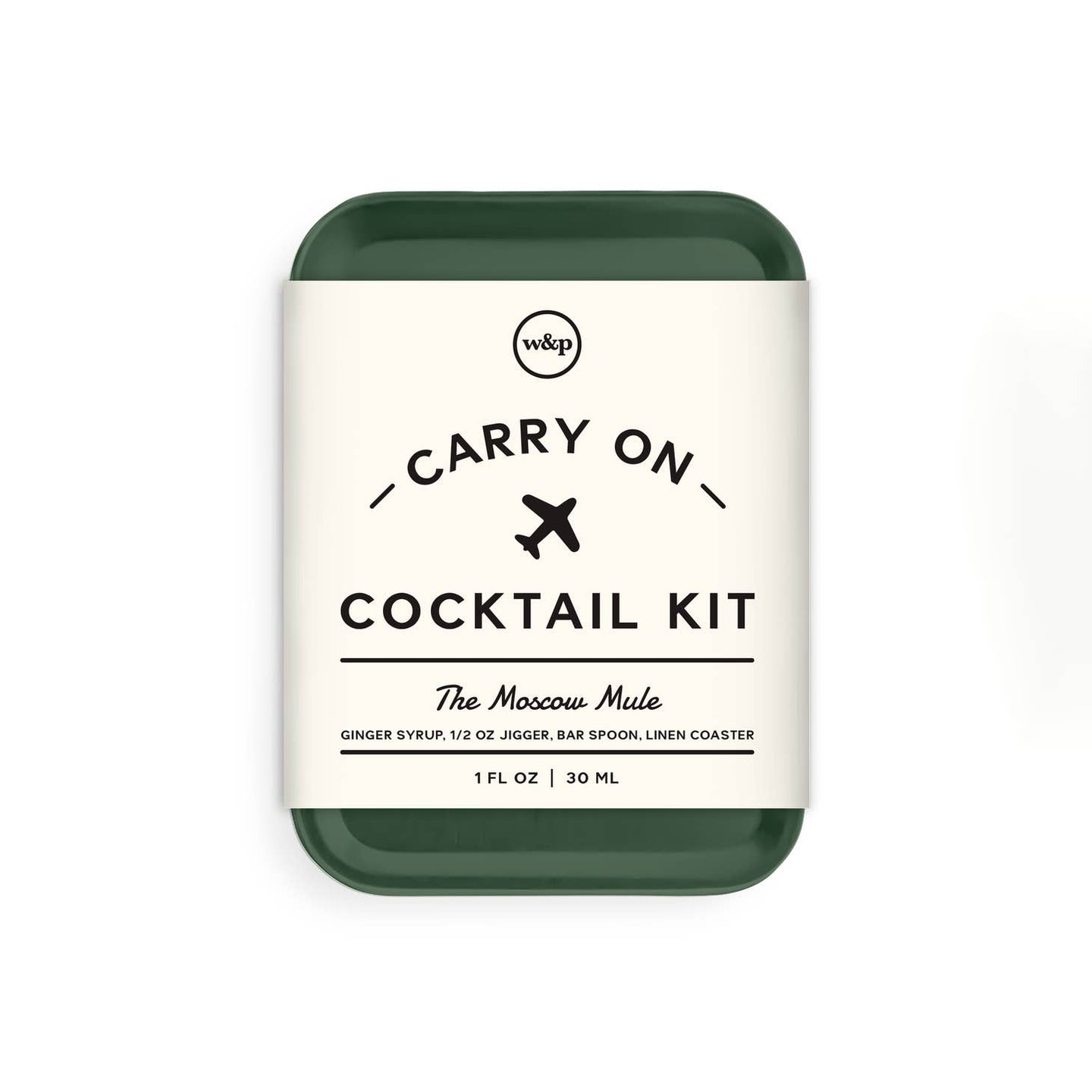 W&P - Carry on Cocktail Kit - Moscow Mule (Green)