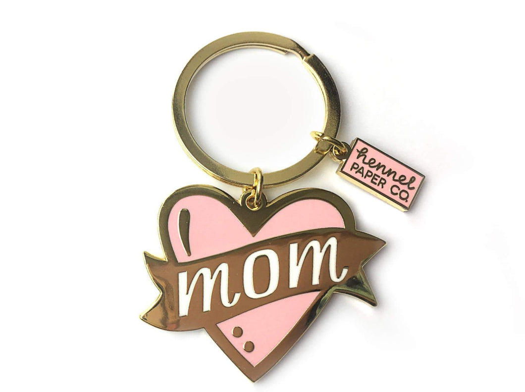 Hennel Paper Co. - Keychain - Mom