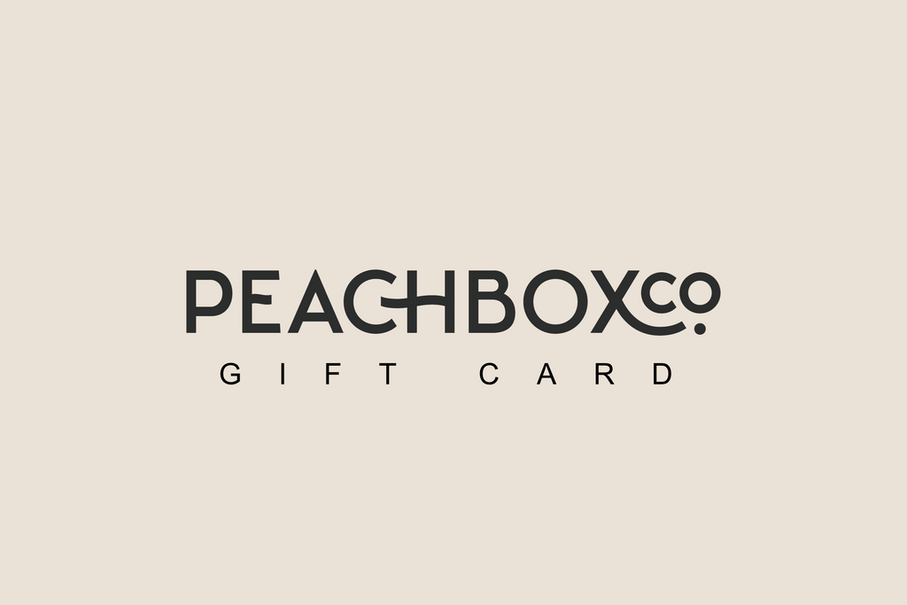 PEACHBOX Gift card
