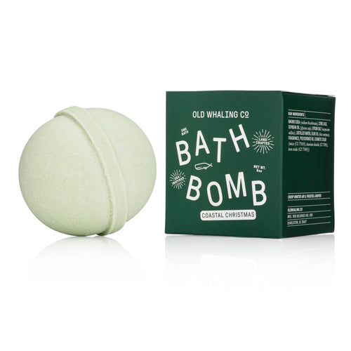 Coastal Christmas Bath Bomb