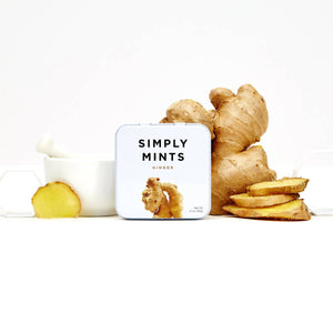 Simply Gum - Natural Mints - Ginger