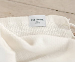 PCB Home - Lightweight Throw Blanket - Tan Striped