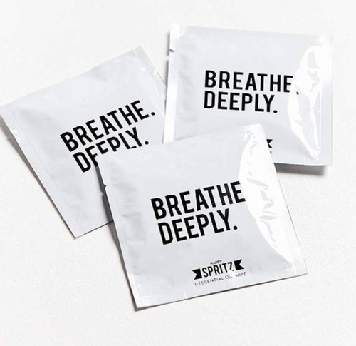 Breathe Deeply Essential Oil Towelettes