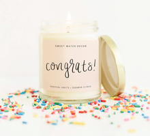 Load image into Gallery viewer, Sweet Water Decor | Congrats! Soy Candle