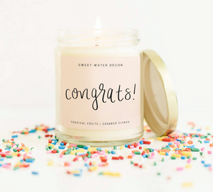 Sweet Water Decor | Congrats! Soy Candle
