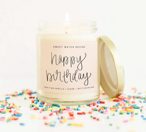 Happy Birthday! Soy Candle