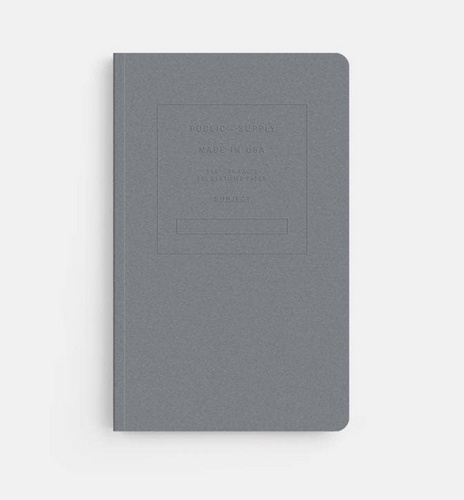 Embossed Soft Cover Notebook