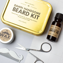 Load image into Gallery viewer, DAMN HANDSOME BEARD GROOMING KIT