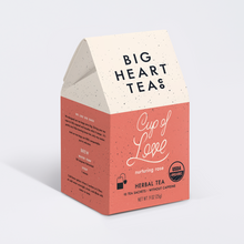 Load image into Gallery viewer, Big Heart Tea Co. - Cup of Love Tea Bags