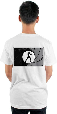 007- front pocket, arm and back - tultex-mens t shirt