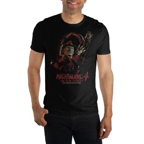 A Nightmare on Elm Street 4: The Dream Master Crew Neck Short Sleeve T shirt