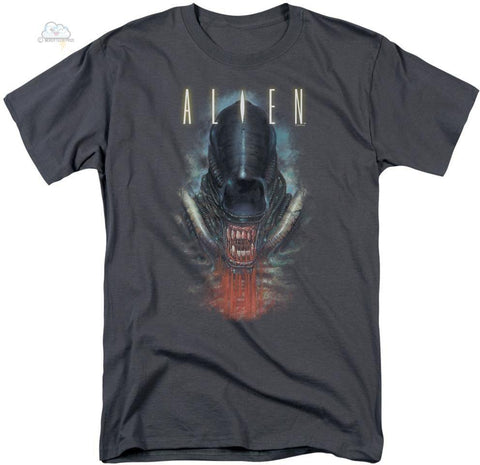 Alien - Bloody Jaw Short Sleeve Adult