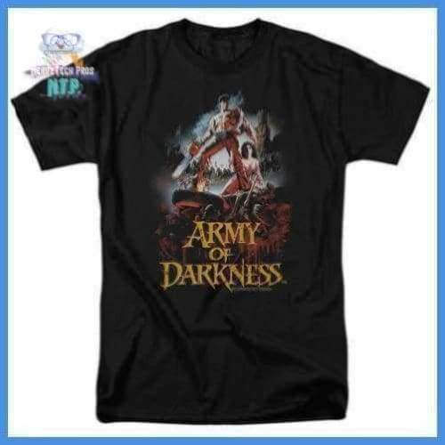 Army Of Darkness - Bloody Poster Short Sleeve Adult