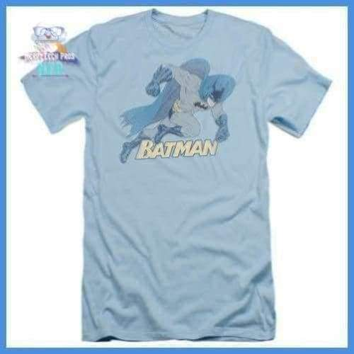 Batman - Running Retro Short Sleeve Adult